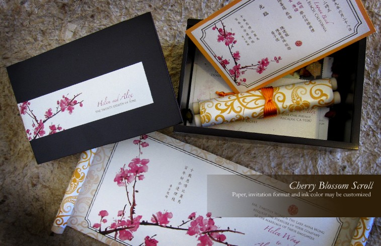 Chinese Wedding Themed Invitations I Do Concepts