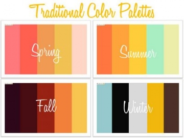 Good Color Schemes Enchanting With Spring Summer Wedding Colors Photo